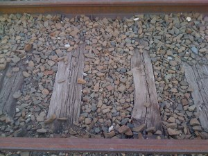 Railroad Tracks in Luzerne