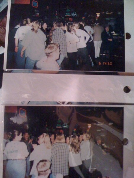The memorable night (yep, Faith still remembers this night from what my buddies tell me) where I had the DJ play the Hokey Pokey at the post-show after party. Faith Hill and her band did the Hokey Pokey with me, my co-workers, my old roomie, and some fans.
