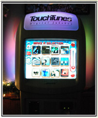 Touch Tunes Digital Jukebox